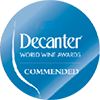 Commanded au concours Decanter Wines Awards